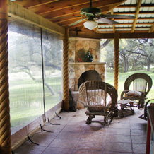 Southern Patio Enclosures Restaurant Wind Screens