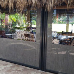 Clear Vinyl Motorized Patio Enclosure