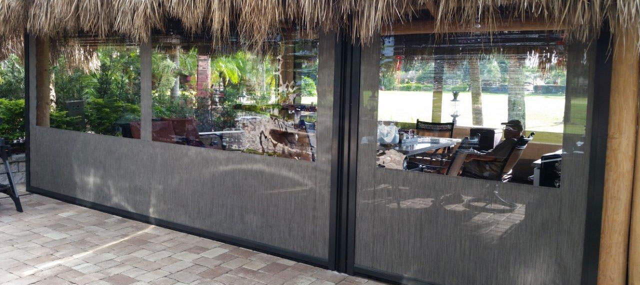 Clear Vinyl Patio Enclosure Commercial and Restaurant Patio Enclosures