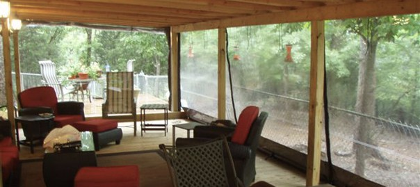 Patio Wind Protection, Outdoor Shades, Patio Weather Protection, Enclosed  Patio, Enclosed Patio