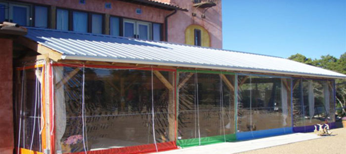 Clear Vinyl Patio Enclosures As Sunrooms For Your Plants