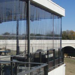 Patio Enclosures, Porch Enclosures, Restaurant Enclosures, Drop Curtains, High Wind Patio Enclosures
