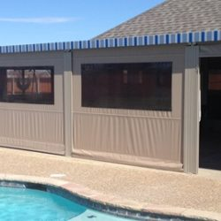 Motorized Patio Enclosures Create Sleek, Seamless Fit