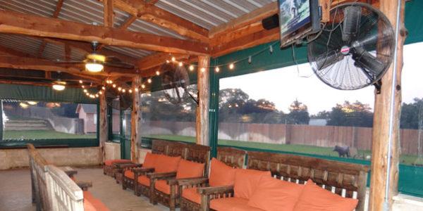 patio enclosures used as deck wind shades
