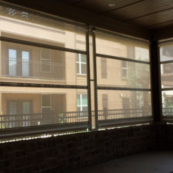 Café Blinds generate comfort and a more hospitable environment.