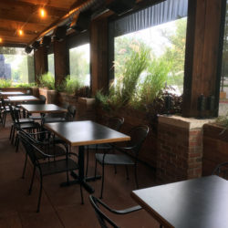 Motorized Cafe Blinds Are Both Sturdy And Low Profile