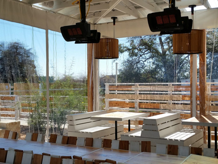 Restaurant Vinyl Patio Covers | Southern Patio Enclosures