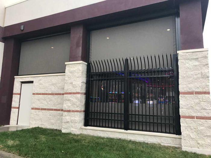 Ohio wind screens on casinos