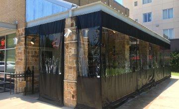 fort worth midtown torchys tacos patio screen systems