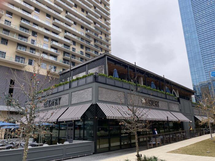 the henry restaurant motorized patio enclosures rooftop patio dallas
