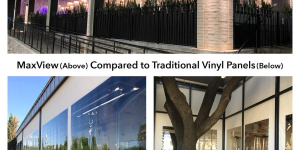 MaxView window vinyl panels