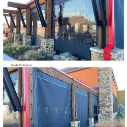 outdoor restaurant patio screens